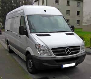 Mercedes Sprinterm Van