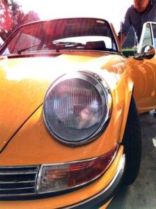 Orange Porsche | Porsche Servicing