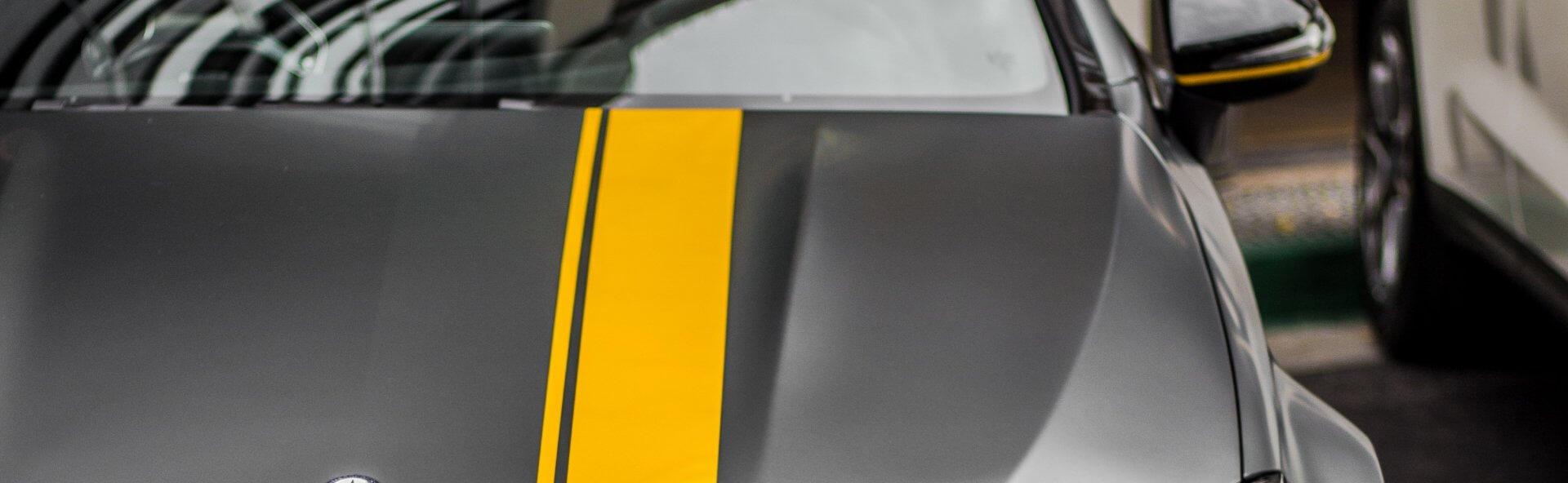 Grey Mercedes bonnet | Walker cutting