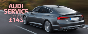Audi service offer from £143