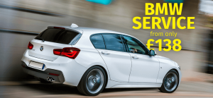 BMW servicing offer from £138